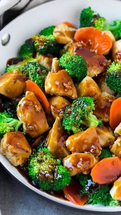 A healthy chicken stir fry in honey garlic sauce. dinner no meat Honey Garlic Chicken Stir Fry Healthy Chicken Stir Fry, Garlic Chicken Stir Fry, Broccoli Chicken, Sesame Chicken, Tofu Chicken, Broccoli Alfredo, Baked Chicken, Chicken Stir Fry Marinade, Healthy Stir Fry Sauce