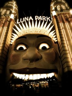 luna park, sydney australia I love this place Sydney Australia, Australia Travel, Luna Park Sydney, 7 Continents, Coney Island, South Pacific, Amusement Park, One Pic, Places To Travel