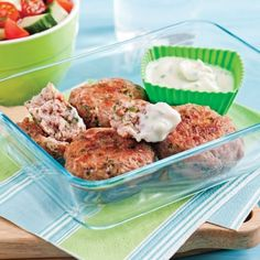 Accompagnez vos croquettes d'une mayonnaise légère vite faite aromatisée de vos fines herbes préférées!