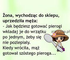 Każdy mąż tak samo by zrobił. Weekend Humor, Motto, Sarcasm, Family Guy, Jokes, Funny, Fictional Characters, Picture Polish, Funny Sayings