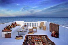 Terrasse du Dar Xerri Tunisie