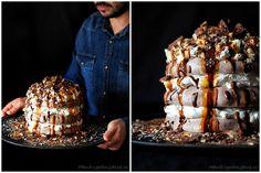 Kakaová Pavlova - Cocoa Pavlova Cake  www.peknevypecenyblog.cz