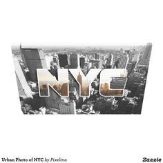 Urban Photo of NYC Canvas Print
