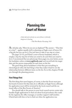 Great Eagle Court of Honor | Looking for Eagle Scout Court of Honor ideas? Read this « Bryan on ...