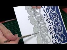 How to Use the Fancy Die'sire Edge'able | Hobbycraft - YouTube