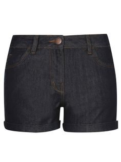 Shorts - Dark Denim Shorts