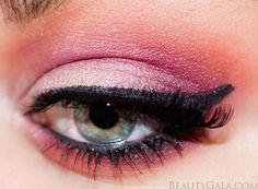 """Morphe """"Jaclyn Hill's Favorites"""" Eyeshadow Palette: Makeup Look & Tutorial Makeup Looks Tutorial, Goth Makeup, Morphe, Eyeshadow Palette, Gothic, Make Up, Lipstick, Paint, Amazing"""