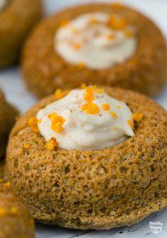 Weekday Donuts. Orange Cashew Cream Filled. Gluten-free + Vegan.