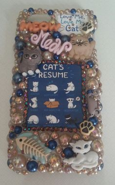 CAT LOVER Kitty Love Handmade Made to Order by ExpressiveCases