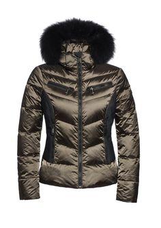 #Kitesun GB03-10-173 gb0310173 #648 #bomber #skijacket #skiwear #luxurysportswear #Goldbergh #GB #ski #snowwear #skifashion #foxfur