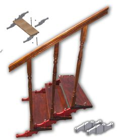 Adcrist modulare staircase Products, Gadget