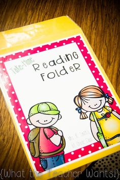Innovative Ways to Organize Take Home Folders for Your Classroom Reading At Home, Reading Logs, Reading Centers, Reading Activities, Teaching Reading, Guided Reading, Teaching Ideas, Teacher Resources, Ar Reading