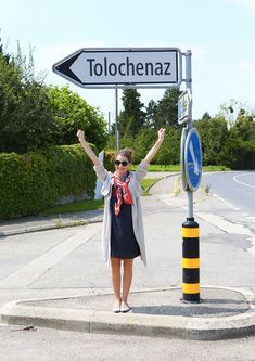 Inspired by Two for the Road in Audrey Hepburn's home of Tolochenaz, Switzerland!