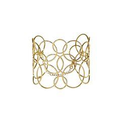 Bracelet de Créateur «Luxembourg», Recouvert d'Or 24K - Thomas de Lussac - Apiya
