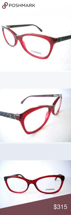 Chanel Eyeglasses New authentic  54-17-140 Includes case CHANEL Accessories Glasses