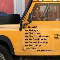 No Problems #LandRover #Car #autoparts #autorepair #fixingcar