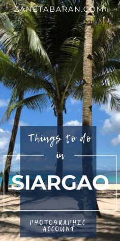 Travelling to Siargao, Philippines? Check out things to do in Siargao island, something more than just surfing. Stuff To Do, Things To Do, Siargao Island, Short Trip, Plan Your Trip, Asia Travel, Day Trip, Continents, Philippines
