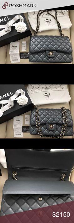 ff68474cf8166 Chanel Le Boy Caviar Lambskin Flap Authentic
