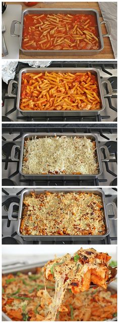 No boiling pasta or breading chicken to make this casserole spin on classic chicken Parmesan. An incredibly easy dinner the whole family will love!