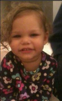 RIP 2 year old Zaeyana Driggs-Threats:  Her father murdered her.
