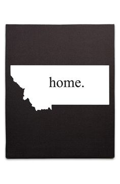 'Home State' Canvas Wall Art | Nordstrom