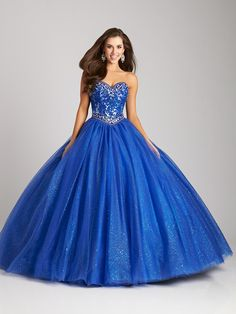 Imagenes de vestidos azules
