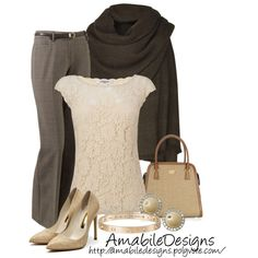 Work wear from the closet by amabiledesigns on Polyvore
