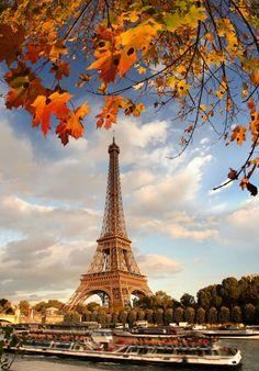 Autumn in Paris, France.