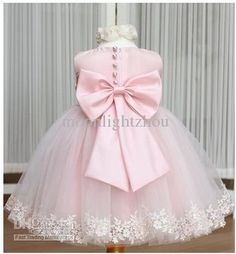Wholesale Dress - Buy 2014 Baby Girl's Dress Kids Girl Party Dress Wedding Pink Flower Princess Dresses Jazz Style Black Dress with Rose Tie Bow Tcq 009 TuTu Lj, $14.91 | DHgate