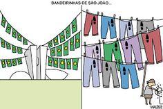 waldez cartuns: bandeirinhas