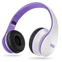 Sentey® Headphones Headset Flow Purple - Microphone and Inline Control for Talk - Kids Headphones - Headphones for Kids - Kid Heaphones for Music / Gaming / Foldable for Easy Storage with Detachable 3.5 Mm Audio Cable - Apple Headphones - Samsung Headphones - Sport Headphones - Bass Headphones - Running Headphones - Sport Headphones Heavy Bass - Powerful High Definition Sound Amazing Sound - New Iphone 6 and Iphone 6 Plus Compatible - Best Super Portable Top Rated Sound- Indoor - Outdoor…