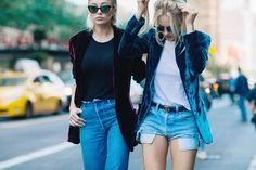 Streetstyle на Неделе моды в Нью-Йорке. Часть 5