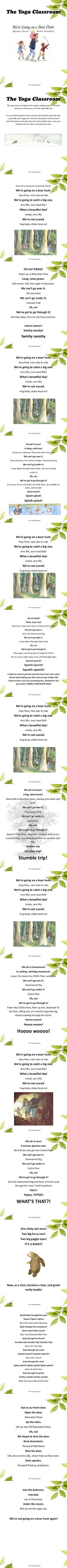 This story is beloved! Students will enjoy this active re-telling of Michael Rosen and Helen Oxenbury's fun story. The Sequence below is a great way to end a story unit on Bears!