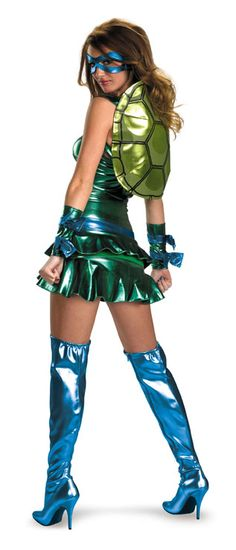 Teenage Mutant Ninja Turtles Sexy Leonardo Adult Costume  #teenage mutant ninja costumes #tnmt costumes