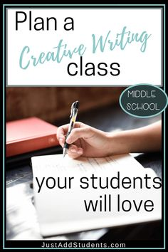 25 Best Middle School Creative Writing Ideas images in 2019