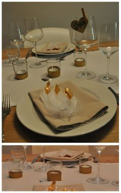 DIY Do it yourself candle glasses in Gold Kerzengläer in Gold http://wolkesieben-wedding.ch/news/diy-do-it-yourself-goldrausch-kerzenglaeser