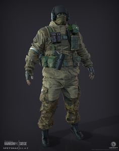 ArtStation - Glaz | Spetsnaz | Rainbow 6 | Siege, J. Mark