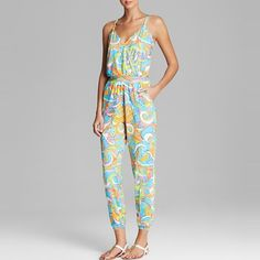 Trina Turk Cosmos Jumpsuit Swim Cover Up http://www.rankandstyle.com/top-10-list/best-printed-jumpsuits/trina-turk-cosmos-jumpsuit-swim-cover-up/