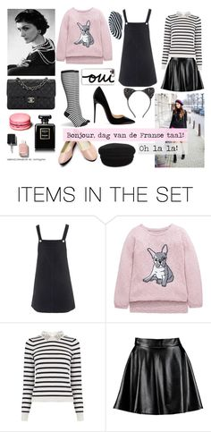 """""""French💞"""" by pernille-sophie ❤ liked on Polyvore featuring art"""