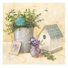 Chef's Garden Impressão giclée