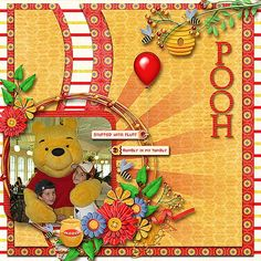 Crystal Palace - Page 12 - MouseScrappers.com Disney scrapbook layout