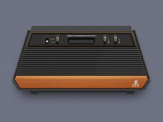 I was more a Commodore kid, but the design of this console is just great!