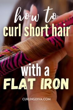 While flat irons are traditionally used for creating sleek straight hair, they have risen in popularity as a fantastic curling tool as well. If you are looking for versatility or want to save money by spending less on styling tools, opt for a flat iron with small plates around 0.5 to 1 inch in width. Or for very short styles such as pixie cuts, a straightener like the.. CLICK TO READ MORE How To Use Straightener, Curled Hairstyles, Straight Hairstyles, Curling Tools, How To Curl Short Hair, Flat Irons, Short Styles, Pixie Cuts, Small Plates