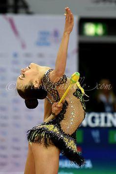 Arina Charopa (Belarus), World Championships 2015