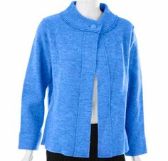 Try this in the royal blue merino jersey knit.