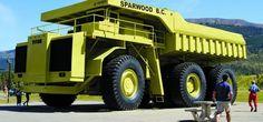 Le pus grand camion à benne du monde