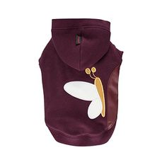 Puppia Authentic Winter Butterfly Hoodie Medium Purple * Visit the image link more details. (This is an affiliate link) #DogsHoodies