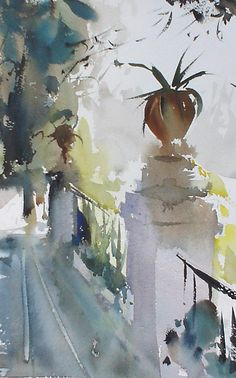 Painting - Albaicin   Granada by Manolo  Jimenez
