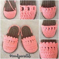 Crochet Baby Design 80 Patrones para hacer zapatitos, botines y zapatillas de bebés en crochet (free patterns crochet sandals babies) Crochet Baby Sandals, Booties Crochet, Crochet Baby Clothes, Crochet Shoes, Crochet Slippers, Love Crochet, Baby Booties, Crochet Baby Blanket Beginner, Baby Knitting