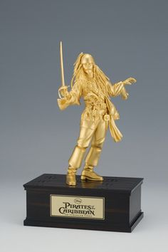 You've gotta really love Jack Sparrow - this 24k gold piece is selling for more than 400k!